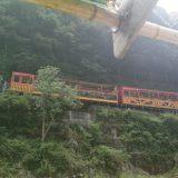 京都嵐山のトロッコ列車