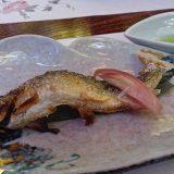 日本の代表的な川魚、鮎です