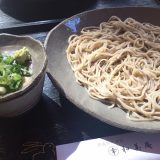 Soba restaurant in Shiga