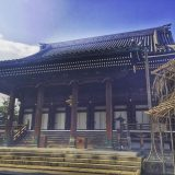 Quiet but big temple in downto