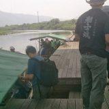 トロッコ列車で嵐山から亀岡まで行った帰りには川下りで帰ってく