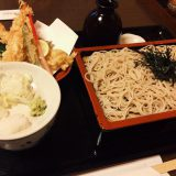 Soba restaurant hopping in Kyo